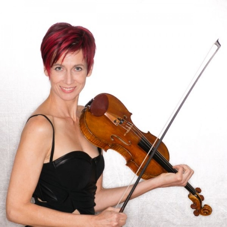 Classical violin and viola are my foundation. I also write new music and play electric violin/viola.