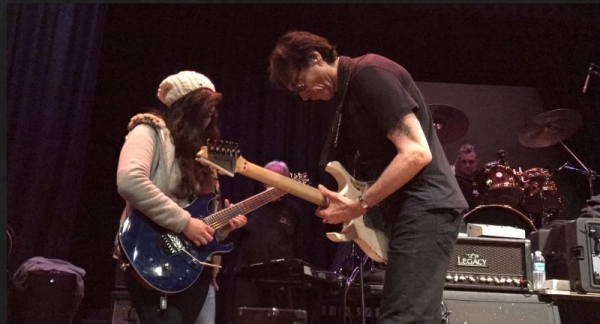 Playing with Steve Vai