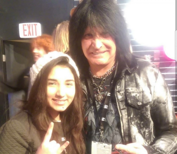 With Michael Angelo Batio