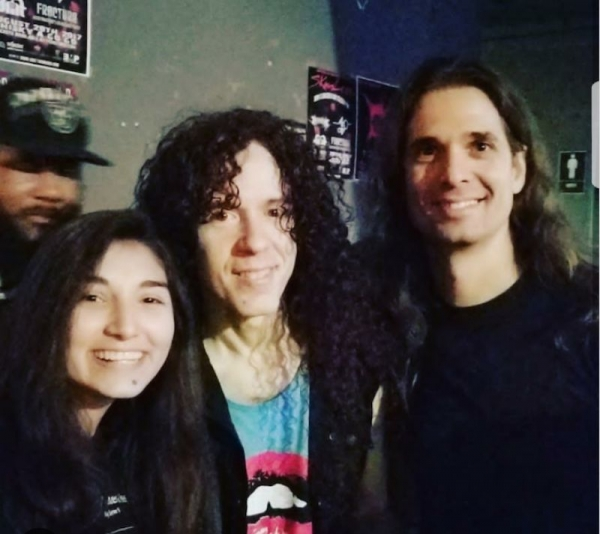 Marty Friedman and Kiko Loureiro