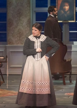 Mary in The Flying Dutchman at Opera San Jose, my second Wagner role.