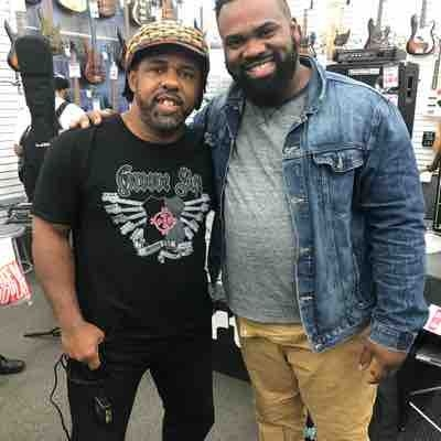 Privileged to spend musical time with Victor Wooten this past year. Life changing.