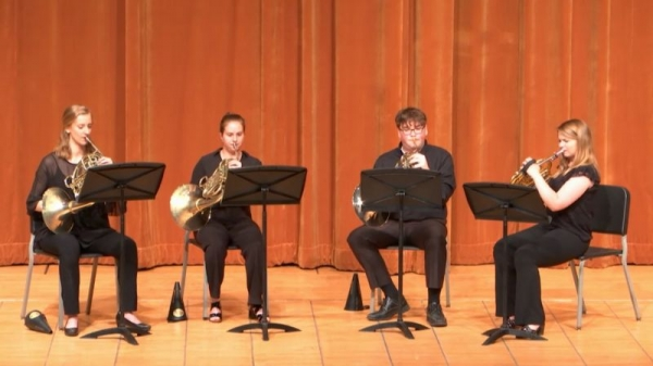 Brass Chamber Group: Horn Quartet!