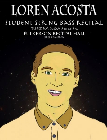 Poster for Student Recital