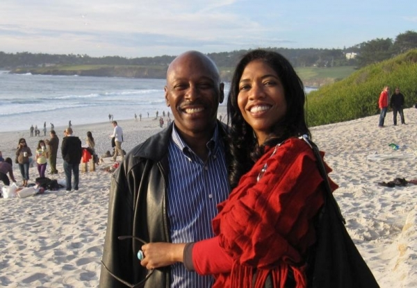 Hubby & I at one of our favorite spots in Carmel, CA