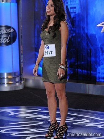 Season 10 American Idol Hollywood contestant