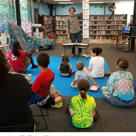 Mini Musicians! A music program I wrote and am putting on at our local library. This program teaches children ages 3-12 about music basics.
