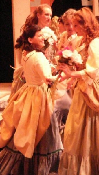 "As ""Gianetta"" in The Gondoliers."