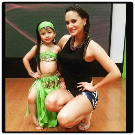 My student had perform a couple of times on tv. She started dancing when she was 3 years old
