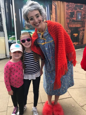My lovely piano students came out to watch Little Red Riding Hood with San Diego Opera