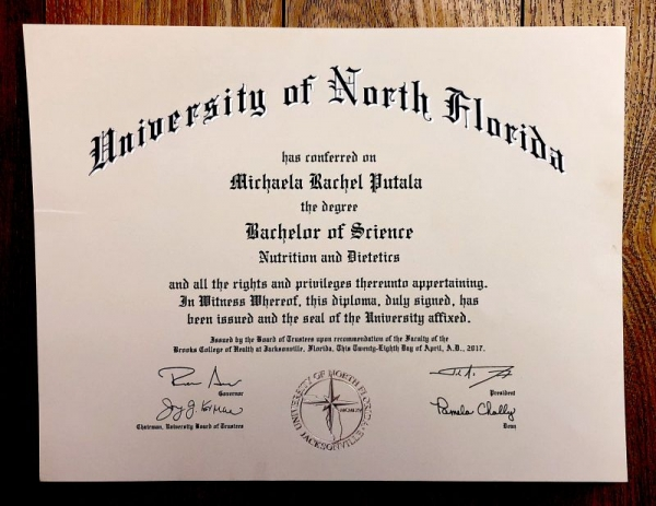 College Diploma