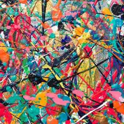 Abstract Expressionism, Acrylics