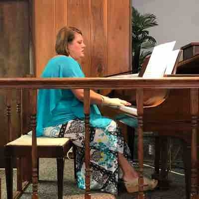 Church music is a huge part of my life so practicing and playing for church is a weekly enjoyment.