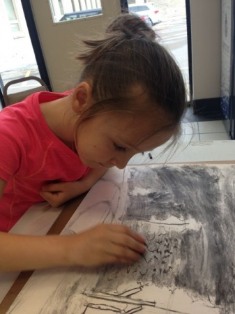 Art lessons are an excellent way to encourage focus and problem solving!
