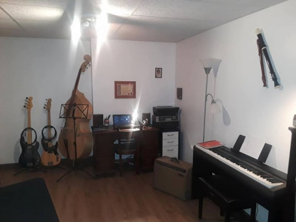 The new Twin Brooks Music Studio