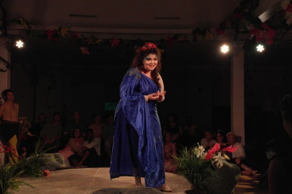 As Galatea in Handel's Acis and Galatea, Opera Theatre of Montclair