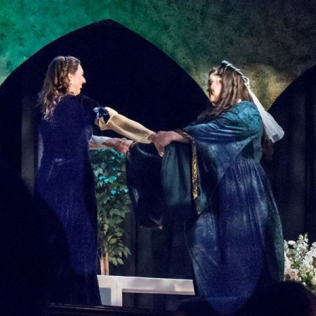 As Ines in Verdi's Il trovatore, New Rochelle Opera
