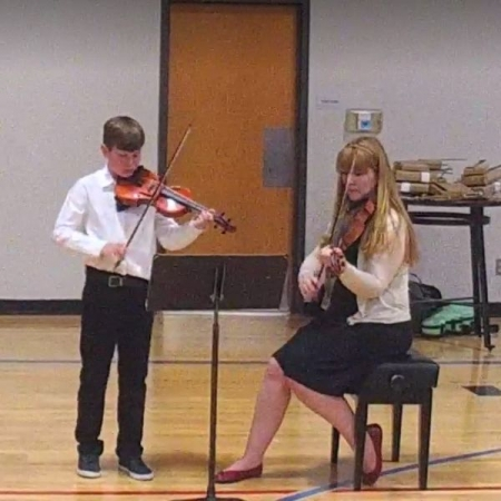 Duets with a student