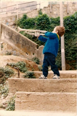 I learned to play various instruments as a young child.