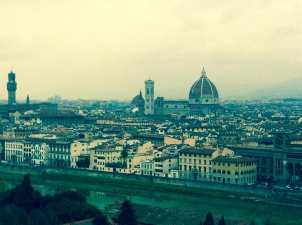 My forever home, Florence, Italy :)