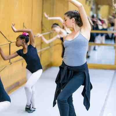 Teaching at CPYB's summer intensive program.