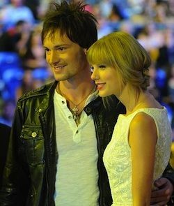 Taylor Swift and Ryan Laird at the CCMA Awards Show!