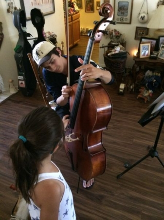 My Little Cousin Experiences Cello for the First Time