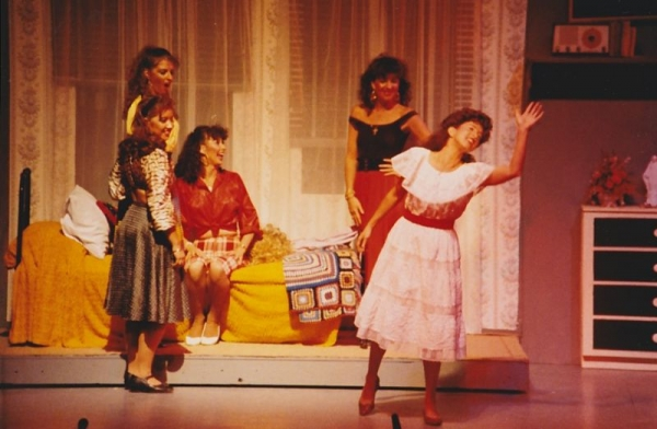 Carolyn Smithf as Maria in West Side Story