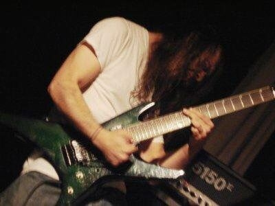 Me as a young rocker with long hair probably around 2006.