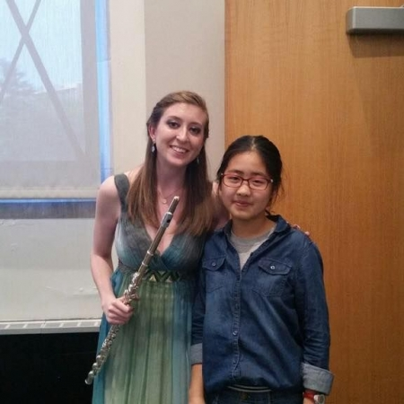 One of my students at my Masters Recital