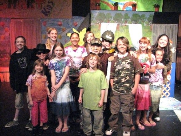 """Cast of our Theatre Creators Kids production from our North Hollywood days, """"A Place to Play."""""""