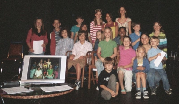 On Camera acting class students with our former company Theatre Creators Inc & The Academy Training Center in NOHO