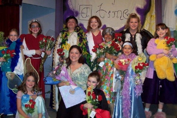 """Cast of our Theatre Creators Kids production from our North Hollywood Days, """"Prince Thomas and the Road to Fame."""""""
