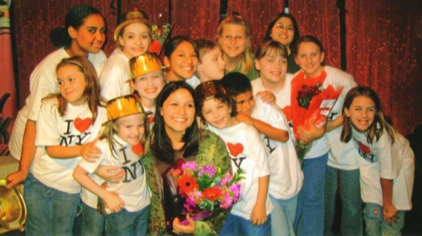 "Cast of our Theatre Creators Kids production from our North Hollywood days, ""Broadway Bound Kids."""