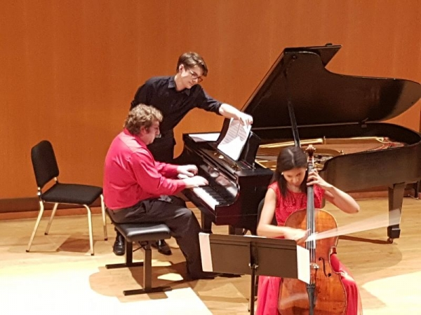 Doctoral solo recital at FSU, Spring 2018