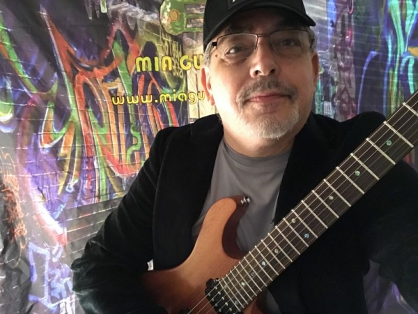 George Jacobs in the studio, check out his new release. A.I.