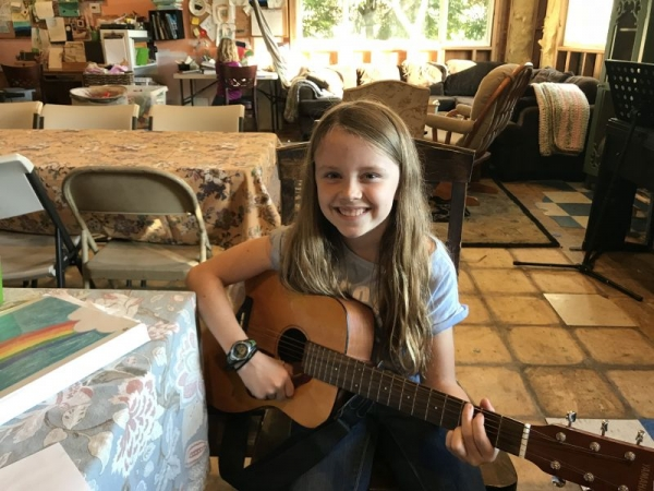 Acoustic Guitar with Emma!