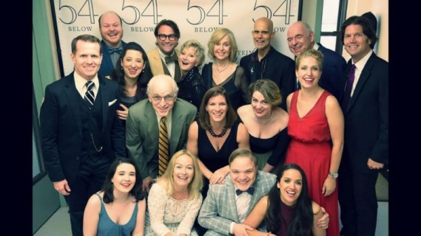 Vanessa performs at 54 Below with the original Broadway cast of Onward, Victoria!