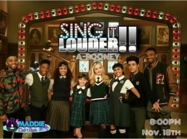 "Choregrapher on set of Disney channel  show "" Liv and Maddie"