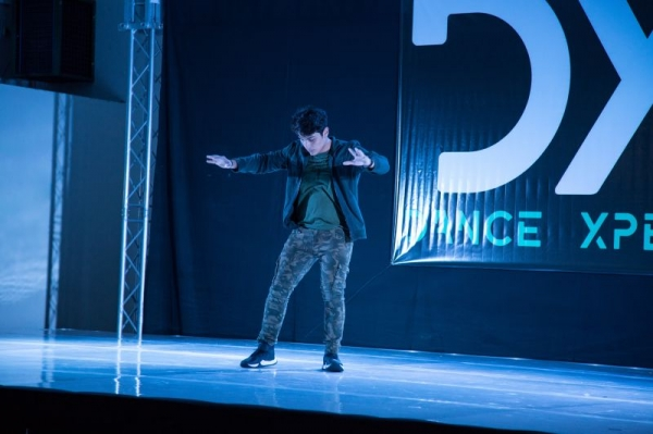 performing at Dance Xpert competition