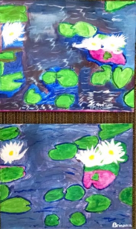 Paint Like Monet Acrylic Painting Workshop.