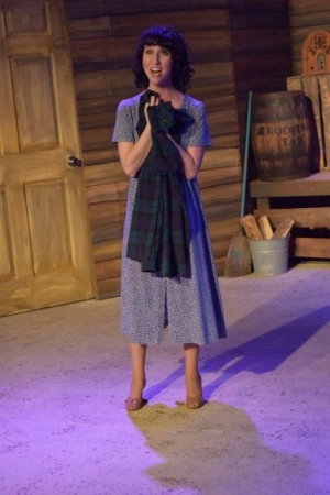 "Elizabeth Suzanne as Blanche Barrow in ""Bonnie & Clyde"", Costa Mesa Playhouse, 2015"