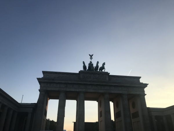 A snap from my trip back to Berlin this summer.