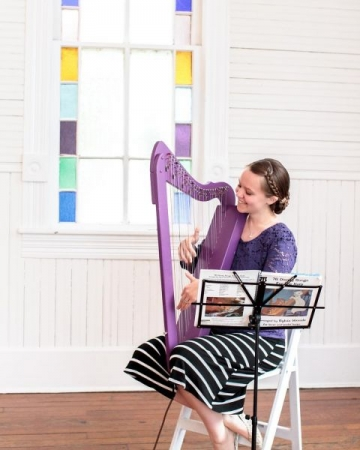 I have experience in performing solos and background music with pedal and lever harps. I can help students prepare for their first gigs!