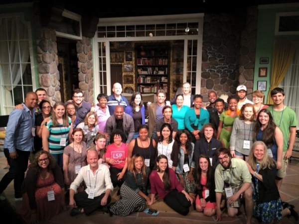 Horizon Theatre Young Playwrights participants and faculty 2015