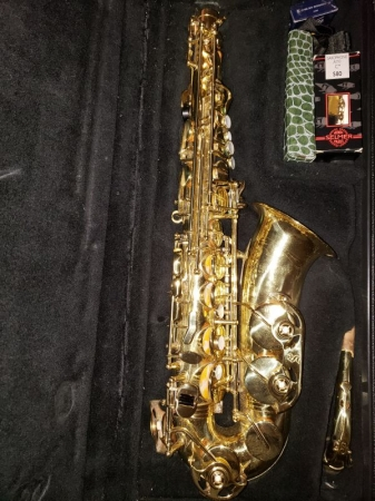 I offer saxophone lessons