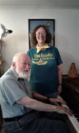 2018 Oct. piano student Bob with Miss Melodie F