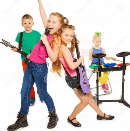 Making music is a great way to express yourself and build confidence. Children develop their talents in a fun, exciting format.