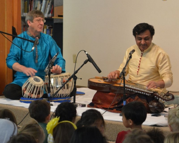 """""""The Music of India"""" School Performance"""