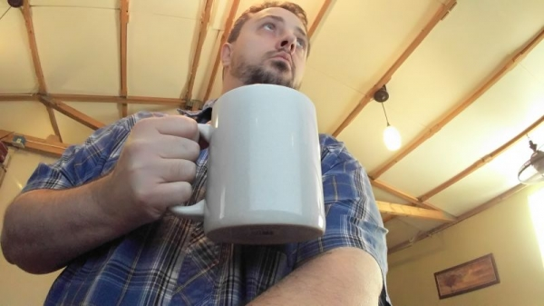 THAT is a big coffee cup!